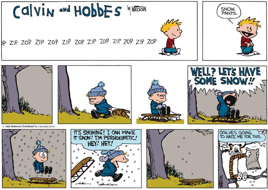 Sneeuwt het al?